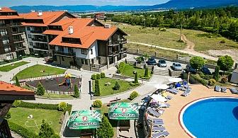 Лято край Банско. 2, 3 или 5 нощувки със закуски и вечери + СПА зона, открит басейн и игрална зала от Комплекс Балканско Бижу