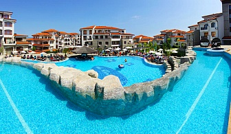 Лято край Поморие и Ахелой. Нощувка, закуска и вечеря + басейн и безплатен трасфер до плажа от Комплекс Винярдс Резорт****
