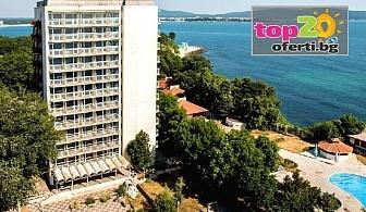 Лято на метри от морето! Нощувка със закуска и вечеря + Открит басейн, чадър и шезлонг в хотел Кремиковци, Китен, от 28 лв. на човек!