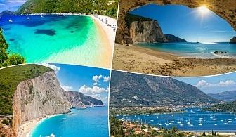Лято на остров Лефкада,  Гърция. Транспорт, 3 нощувки на човек със закуски от ТА Далла турс