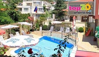 Лято на Първа линия в Слънчев бряг! Нощувка със закуска и вечеря + Открит басейн в хотел Бреза, Слънчев бряг, от 32 лева на човек!