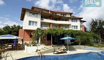 """Лято в семеен хотел """" Вила Ефос"""" 3* св. Константин и Елена! 1 нощувка със закуска, безпалтно за дете до 5.99г."""