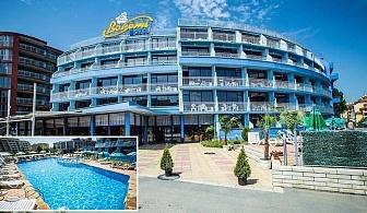 Лято в Слънчев Бряг. All Inclusive + басейн в Хотел Бохеми, на 10мин от плажа. Дете до 12год. БЕЗПЛАТНО