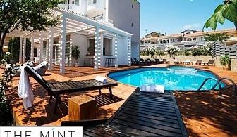 Лято в Свети Влас на 2 минути от плажа! Нощувка на човек + басейн в хотел Минт