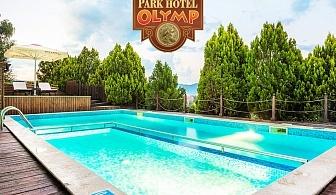 Лято във Велинград! Нощувка със закуска или закуска и вечеря на човек + минерален басейн и бонус СПА пакет в Парк хотел Олимп****