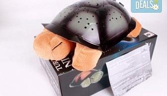 """Любима играчка за """"лека нощ""""! Музикална детска нощна лампа костенурка от Магнифико!"""