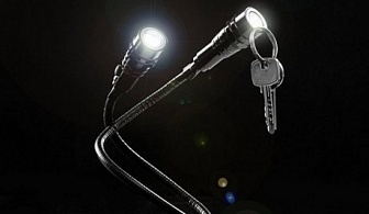 Магнитен огъващ се двоен LED фенер