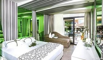 На 1-ви Май за една нощувка със закуска и вечеря на о.Тасос в хотел Notos Deluxe Suites с басейн, джакузи и фитнес / 03.04.2019 - 04.05.2019