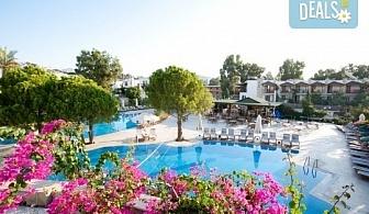 Май или юни на почивка в Ayaz Aqua Hotel 4*, Бодрум, Турция! 7 нощувки на база All Inclusive, самолетен билет, летищни такси и трансфери