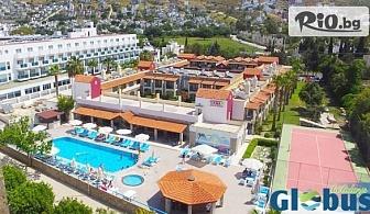 Майски празници в Бодрум! 5 нощувки на база All Inclusive в Хотел Tiana Beach Resort, от Глобус Холидейс
