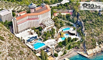 Майски празници в Кушадасъ! 4 или 5 нощувки на база Ultra All Inclusive в LADONIA HOTELS ADAKULE 5* + собствен плаж, аквапарк и възможност за организиран транспорт, от Далла Турс