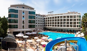 Майски празници 2019 на 1-ва линия в Мармарис! 7 нощувки на човек на база All inclusive + басейни, СПА и анимация от хотел Паша Бийч****