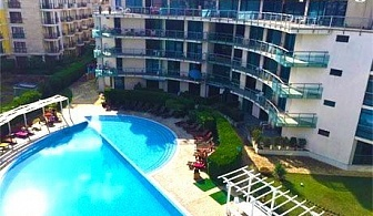 Майски празници в Слънчев бряг! Нощувка на база All Inclusive + басейн в хотел Синя Ривиера. Дете до 12г. - БЕЗПЛАТНО!