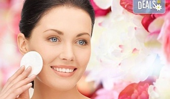 Мануално почистване на лице + ексфолираща терапия, терапия с маска в Салон Blush Beauty