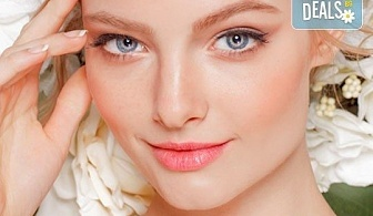Мануално почистване на лице с медицинската козметика Ziaja и оформяне на вежди в Студио БЕРЛИНГО до Mall of Sofia