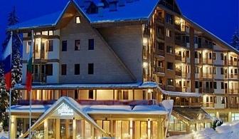 04 - 09 Март в Боровец! Нощувка със закуска за ДВАМА или двама с 2 деца + басейн от хотел Айсберг****