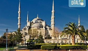 За 3-ти март в Истанбул с Дениз Травел! 2 нощувки със закуски в хотел 2/3*, транспорт, водач и бонус програми