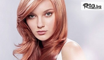 Масажно измиване и оформяне на косата, подстригване или официална/абитуриентска прическа, от Салон за красота Magic Style