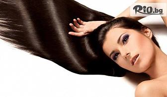 Масажно измиване, подстригване и плитка по желание на клиента, от Салон за красота САНДРА Style