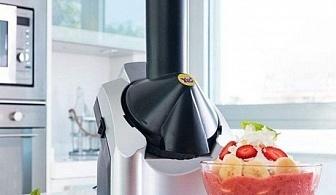 Машина за сладолед от замразени плодове