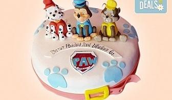 """MAX цветове! Детски торти """"MAX цветове"""" с 2, 3 или 4 фигурки, фотодекорация и апликация по дизайн на Сладкарница Джорджо Джани!"""