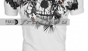 Мъжка Бяла Тениска Religion Ft6216