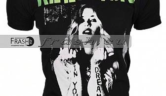Мъжка Черна Тениска Religion Ft6217