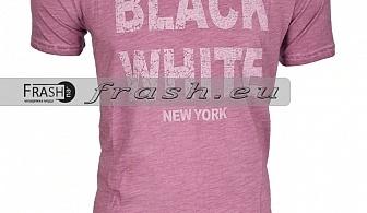 Мъжка Тениска Варен Памук Ft6137
