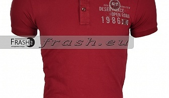 Мъжка Тениска с Яка Ft6164