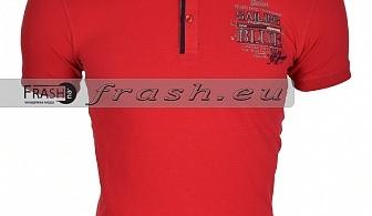 Мъжка Тениска с Яка Ft6162