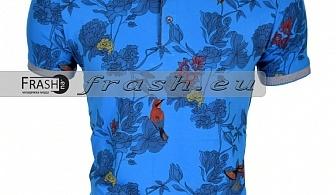 Мъжка Тениска с Яка  Ft6116