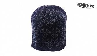 Мъжка топла шапка в черен цвят, от Svito Shop