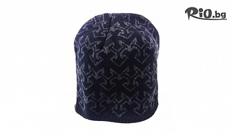 Мъжка зимна шапка в черен цвят, от Svito Shop