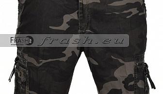 Мъжки маскировачни къси карго панталони БАТАЛ Ft6199