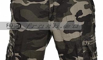 Мъжки маскировачни къси карго панталони БАТАЛ Ft6198