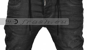 Мъжки сиви къси дънки Ft6226
