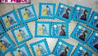 Меденки със снимка или украса от фондан само за 0.90лв. от Сладкарска къща Mi amor