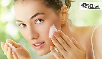 Медицинско мануално почистване на лице или Комбинирано почистване с мануална екстракция + ултразвукова шпатула и въвеждане на ампула с йонофореза, от Салон за красота Баронеса