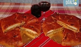 Мераклийски приготвен лучник или апетитен мазник 2 кг. по рецепта от северна България, ексклузивно от Работилница за вкусотии Рави!