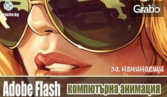 6-месечен онлайн курс по компютърна анимация с програма Adobe Flash - разработена от създателите на Photoshop