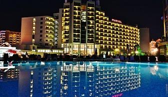На 100 метра от плажа в Слънчев бряг - хотел Марвел, за една нощувка, закуска, открит и закрит басейн и анимация за деца / 04.06.2018 - 12.06.2018