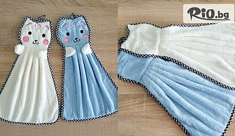 Микрофибърна детска кърпа за ръце Котета, от Svito Shop