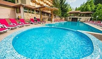МИНЕРАЛЕН басейн + нощувка, закуска, обяд и вечеря на човек в Хотел Дива, с. Чифлик до Троян