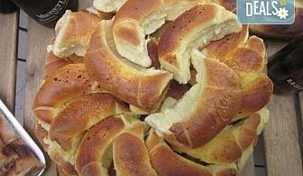 Мини кифли със сирене, кашкавал или шунка и кашкавал - 1 или 2 килограма от Работилница за вкусотии Рави!