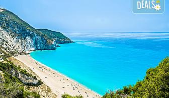 Мини почивка на остров Лефкада през май или септември! 3 нощувки със закуски, транспорт и водач