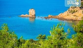 Мини почивка през септември на изумрудения остров Тасос, Гърция: 3 нощувки със закуски и вечери в хотел 3*, транспорт и водач!