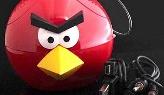 Мини тонколона и MP3 - Angry Birds