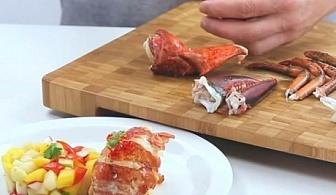 4 бр. мини вилички за морски дарове Tescoma от серия Presto Seafood