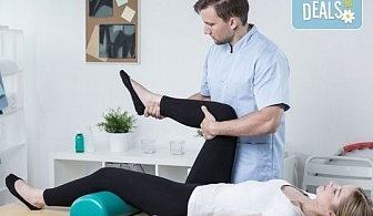 70-минутен лечебен масаж на цяло тяло при травматични, ортопедични, неврологични, ставни заболявания и преглед от професионален физиотерапевт + лазертерапия или инверсионна терапия в студио Samadhi