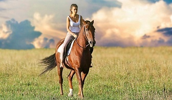 """90 минути поход с кон само за 35 лв. от конна база """"София – Юг"""", кв. Драгалевци"""